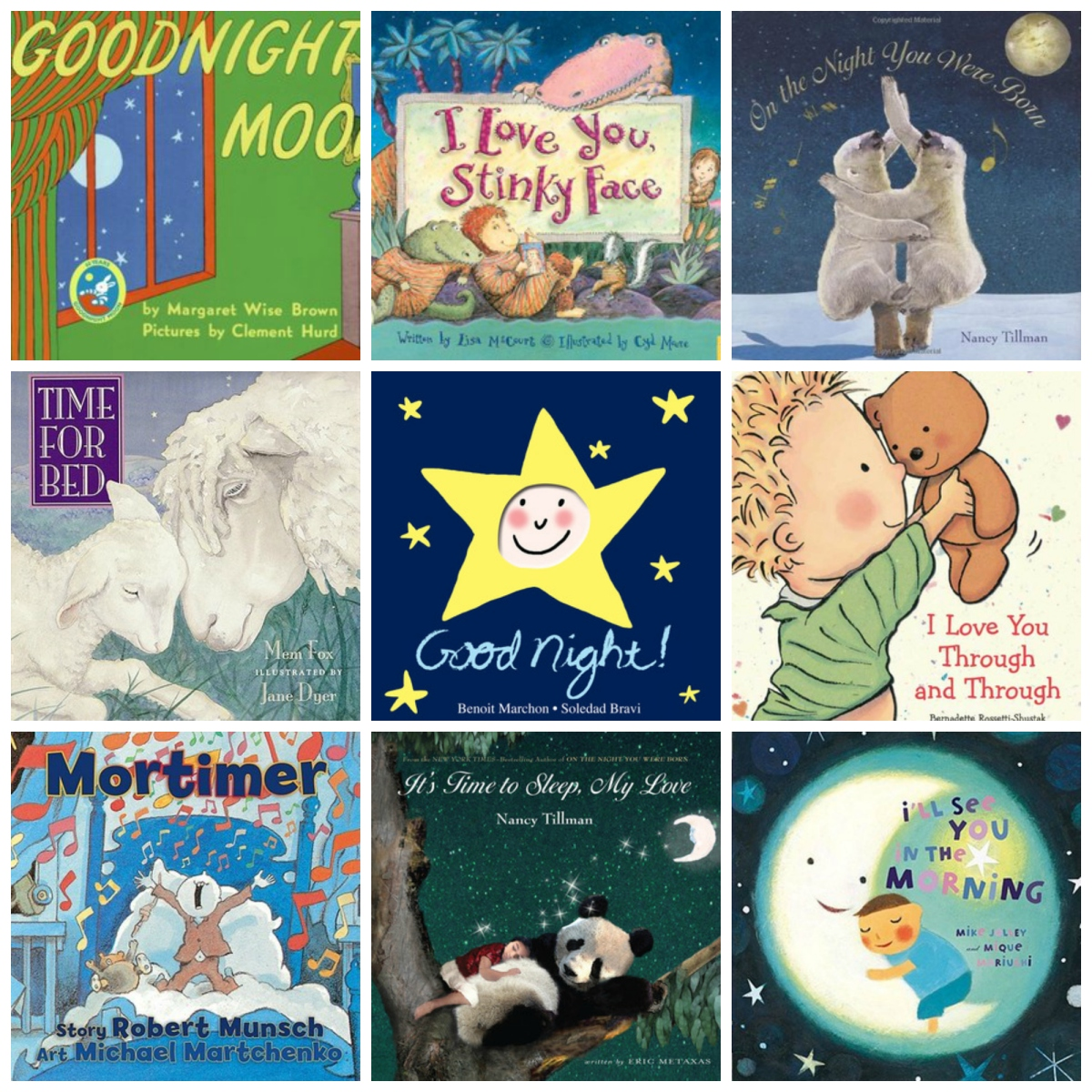 best bedtime books for baby